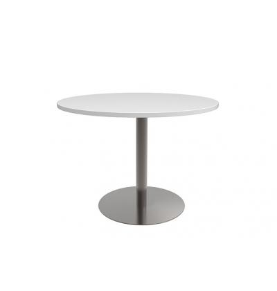 Classic Meeting Table Stainless Base
