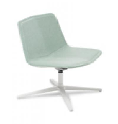 Stratos Lounge white 4 pt glacier s