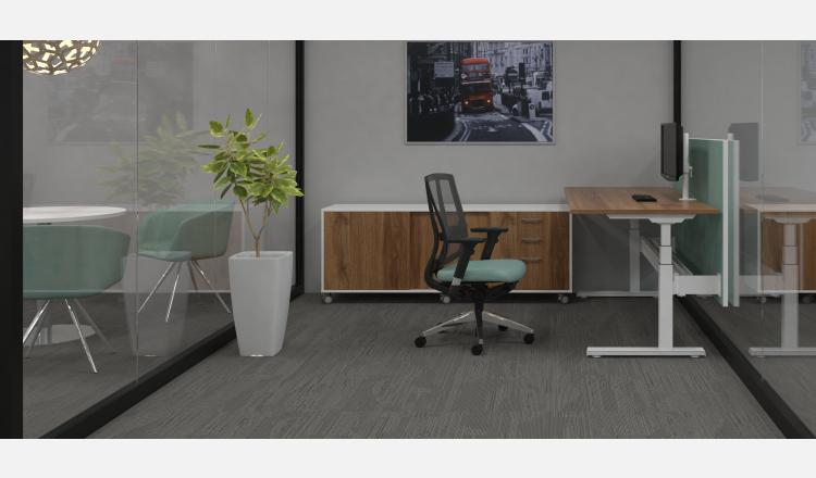 Scene Accent Summit indiv desk electric 198